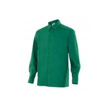 Camisa de manga larga 529-2 verde VELILLA