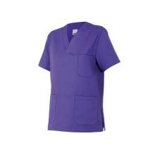 Camisola pijama de manga corta 589-26 morado VELILLA