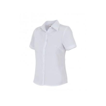 Camisa mujer manga corta 538-7 blanca VELILLA