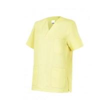 Camisola pijama de manga corta 589-43 amarillo claro VELILLA