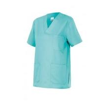 Camisola pijama de manga corta 589-28 turquesa claro VELILLA