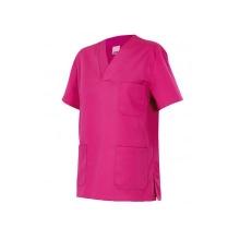 Camisola pijama de manga corta 589-23 fucsia VELILLA