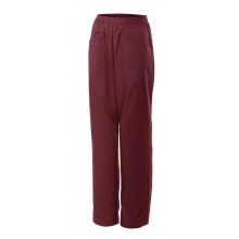 Pantalón pijama mujer 319-18 granate VELILLA
