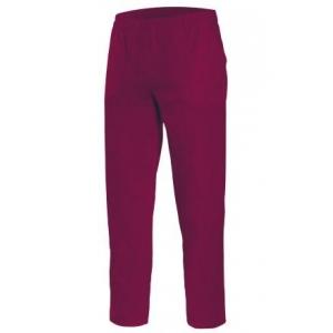 Pantalon pijama cintas 533001-67 burdeos VELILLA