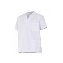 Camisola pijama manga corta 587-7 blanca VELILLA
