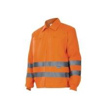 Cazadora alta visibilidad 155-19 naranja VELILLA