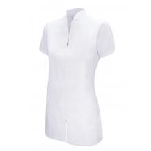 Chaqueta con cremallera manga corta 535202-7 blanca VELILLA