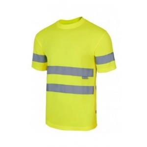 Camiseta técnica 305505-20 amarillo VELILLA