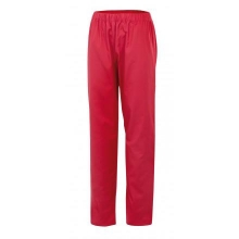 Pantalon pijama sin cremallera 333-24 rojo coral VELILLA