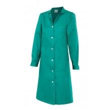 Bata mujer manga larga 908-2 verde VELILLA