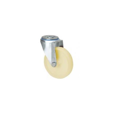 Rueda giratoria 2-1368 80ømm 130kg poliamix ALEX