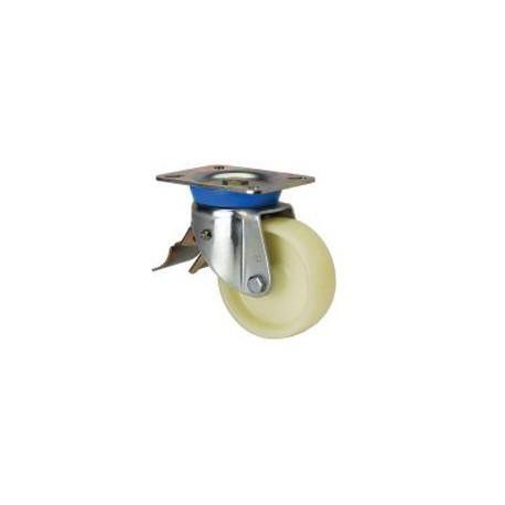 Rueda giratoria freno 2-1621 125Ømm 350kg nylon ALEX