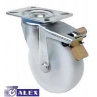 Rueda giratoria freno 2-2340 80ømm 130kg poliamix ALEX