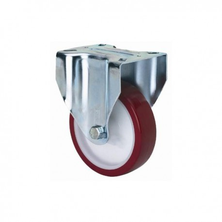 Rueda fija 2-2361 100ømm 130kg poliuretano ALEX