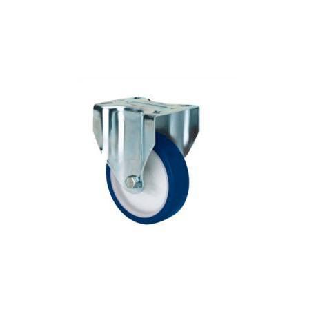 Rueda fija 2-2822 80ømm 100kg poliuretano ALEX