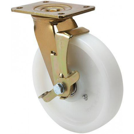 Rueda giratoria 4-1201 100Ømm 350kg nylon ALEX