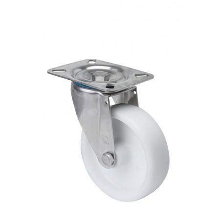 Rueda giratoria 2-1314 60ømm 60kg polipropileno inox ALEX