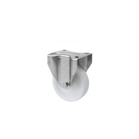 Rueda fija INOX 2-1165 125ømm 250kg poliamix ALEX