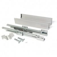 Kit de cajón exterior Vantage-Q Emuca altura 83 mm y profundidad 500 mm