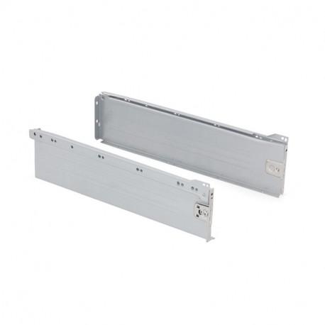 Kit de cajón exterior Ultrabox Emuca altura 150 mm y profundidad 450 mm
