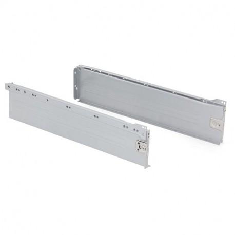 Kit de cajón exterior Ultrabox Emuca altura 150 mm y profundidad 500 mm