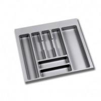 Cubertero Optima Emuca para cajón Vantage-Q para módulo 600 x 500 mm de espesor 16 mm