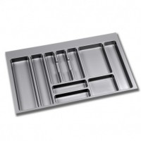 Cubertero Optima Emuca para cajón Vantage-Q para módulo 900 x 500 mm de espesor 16 mm