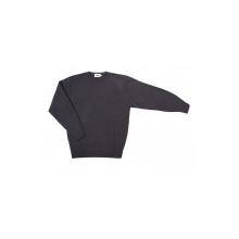 Jersey punto fino cuello redondo 105-8 gris VELILLA