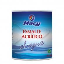Esmalte agua mate multisuperficies negro 4L MACY