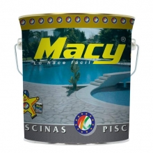 Pintura de piscina al agua azul 4l MACY