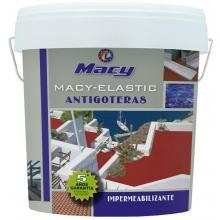Pintura impermeabilizante Elastic Antigoteras gris 4l MACY