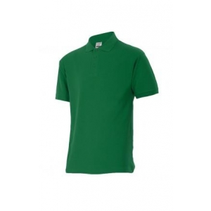 Polo manga corta 105502-4 verde bosque VELILLA
