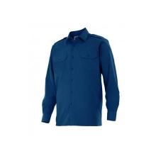 Camisa manga larga 530-1 azul marino VELILLA