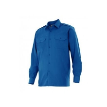 Camisa manga larga 530-9 azulina VELILLA