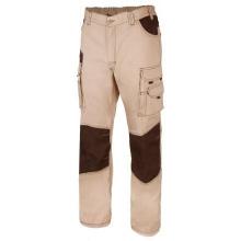 Pantalon bicolor multiboslillos 103011B 46-0 beige negro VELILLA