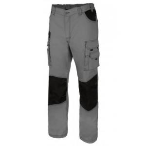 Pantalon bicolor multiboslillos 103011B 8-0 gris negro VELILLA