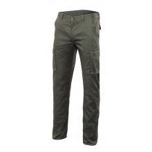 Pantalon multibolsillos stretch 103002S-3 verde caza VELILLA