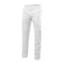 Pantalon stretch multibolsillos 103005S-7 blanco VELILLA