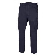 Pantalón algodón stretch 103012S-61 azul navy VELILLA