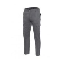 Pantalon multibolsillos algodon 103003-8 gris VELILLA