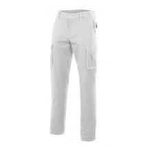 Pantalon multibolsillos 103001-7 blanco VELILLA