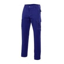Pantalon multibolsillos 103001-9 azulina VELILLA