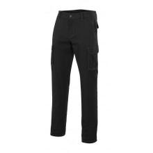 Pantalon multibolsillos 103001-0 negro VELILLA