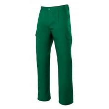 Pantalon multibolsillos 345-2 verde VELILLA