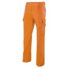 Pantalon multibolsillos 345-16 naranja VELILLA