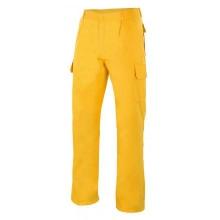 Pantalon multibolsillos 345-17 amarillo VELILLA