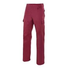 Pantalon multibolsillos 345-18 burdeos VELILLA