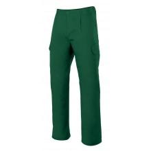 Pantalon multibolsillos 345-4 verde bosque VELILLA