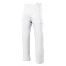 Pantalon multibolsillos forrado 103006-7 blanco VELILLA