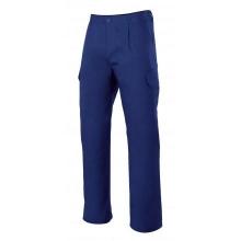 Pantalon multibolsillos forrado 103006-9 azulina VELILLA